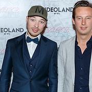 NLD/Amsterdam/20181104 - Premiere documentaire Famke Louise, Producer Jeroen Koopman (R)  en .........