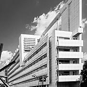 Paris, France, L'Île-de-France, 2001: Canal + Headquarters office Building - Richard Meier Architect - Photographs by Alejandro Sala