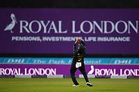 Cricket - 2021 Royal London 50-over Cup - Final - Glamrogan vs Durham - Trent Bridge<br /> <br /> Kiran Carlson of Glamorgan catches Luke Doneathy of Durham.<br /> <br /> COLORSPORT/Ashley Western