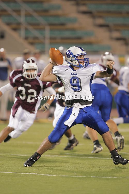 10 October 2008:  The St. Thomas Falcons defeated the Springfield Bulldogs 49-22 on homecoming night at Strawberry Stadium in Hammond, LA.