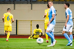 Shamar Amaro Nicholson of NK Domzale during Football match between NK Domzale and Malmo FF in Second Qualifying match of UEFA Europa League 2019/2020, on July 25th, 2019 in Sports park Domzale, Domzale, Slovenia. Photo by Grega Valancic / Sportida