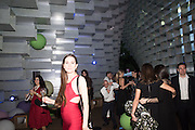 CHRISTINA SOLEY, 2016 SERPENTINE SUMMER FUNDRAISER PARTY CO-HOSTED BY TOMMY HILFIGER. Serpentine Pavilion, Designed by Bjarke Ingels (BIG), Kensington Gardens. London. 6 July 2016