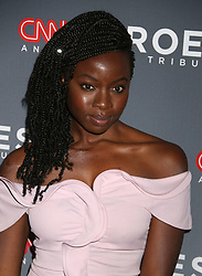 December 9, 2018 - New York City, New York, U.S. - Actress DANAI GURIRA attends the 12th Annual CNN Heroes: An All-Star Tribute held at the American Museum of National History. (Credit Image: © Nancy Kaszerman/ZUMA Wire)