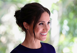 The Duchess of Sussex during a visit to the Kiwi Breeding Programme at Rainbow Springs in Rotorua, New Zealand, on day four of the royal couple's tour of New Zealand.