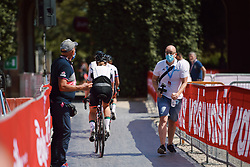 Parkhotel Valkenburg at Strade Bianche - Elite Women 2020, a 136 km road race starting and finishing in Siena, Italy on August 1, 2020. Photo by Sean Robinson/velofocus.com