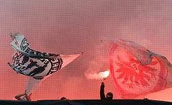 07.05.2011, Commerzbank-Arena, Frankfurt, GER, 1. FBL, Eintracht Frankfurt vs 1.FC Koeln, im Bild Pyrotechnik vor dem Spiel, EXPA Pictures © 2011, PhotoCredit: EXPA/ nph/  Roth       ****** out of GER / SWE / CRO  / BEL ******