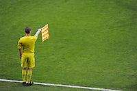 Illustration Arbitre de Touche - 02.05.2015 - Lyon / Evian Thonon - 35eme journee de Ligue 1<br />Photo : Jean Paul Thomas / Icon Sport