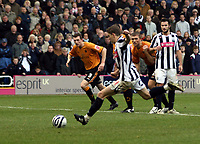 Photo: Mark Stephenson/Sportsbeat Images.<br /> West Bromwich Albion v Wolverhampton Wanderers. Coca Cola Championship. 25/11/2007.Zoltan Gera takes the penalty