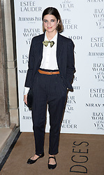 Daisy Bevan attending the Harper's Bazaar Woman of the Year awards at Claridges in London. Picture date: Monday October 31, 2016. Photo credit should read: Isabel Infantes / EMPICS Entertainment.