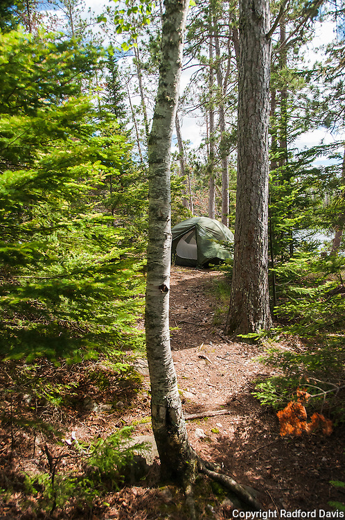 Camping at the Boundary Waters