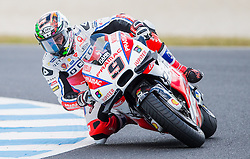 October 22, 2016 - Melbourne, Victoria, Australia - Italian rider Danilo Petrucci (#9) of OCTO Pramac Yakhnich  in action during the 3rd MotoGP Free Practice session at the 2016 Australian MotoGP held at Phillip Island, Australia. (Credit Image: © Theo Karanikos via ZUMA Wire)