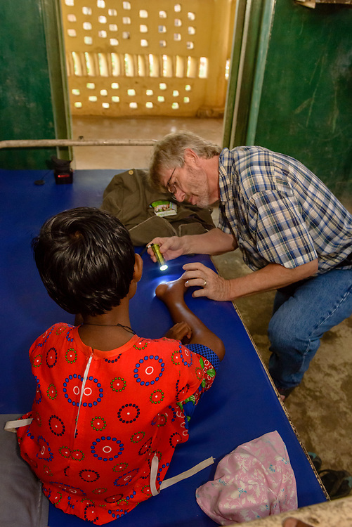 Images taken to support the medical work at St Lukes Mission Hospital, Jarkhand, India. The hospitla was reopened by Shubhro and Elizabeth, after a number of years of being closed.