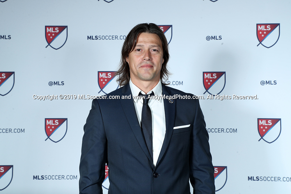 CHICAGO, IL - JANUARY 11: San Jose Earthquakes head coach Matias Almeyda. The MLS SuperDraft 2019 presented by adidas was held on January 11, 2019 at McCormick Place in Chicago, IL.