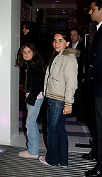 The daughters of Jade Jagger ASSESI and AMBER<br /><br />at the 33rd birthday party of Jade Jagger, held at Garrard, 8 Grafton Street, London W1 on 21st October 2004.<br /><br /><br /><br />NON EXCLUSIVE - WORLD RIGHTS