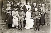 soldiers in unifrom wedding with family 1916 France