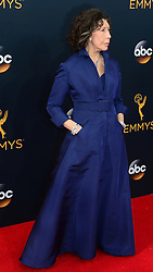 September 18, 2016 - Los Angeles, California, United States - Lily Tomlin arrives at the 68th Annual Emmy Awards at the Microsoft Theater in Los Angeles, California on Sunday, September 18, 2016. (Credit Image: © Michael Owen Baker/Los Angeles Daily News via ZUMA Wire)