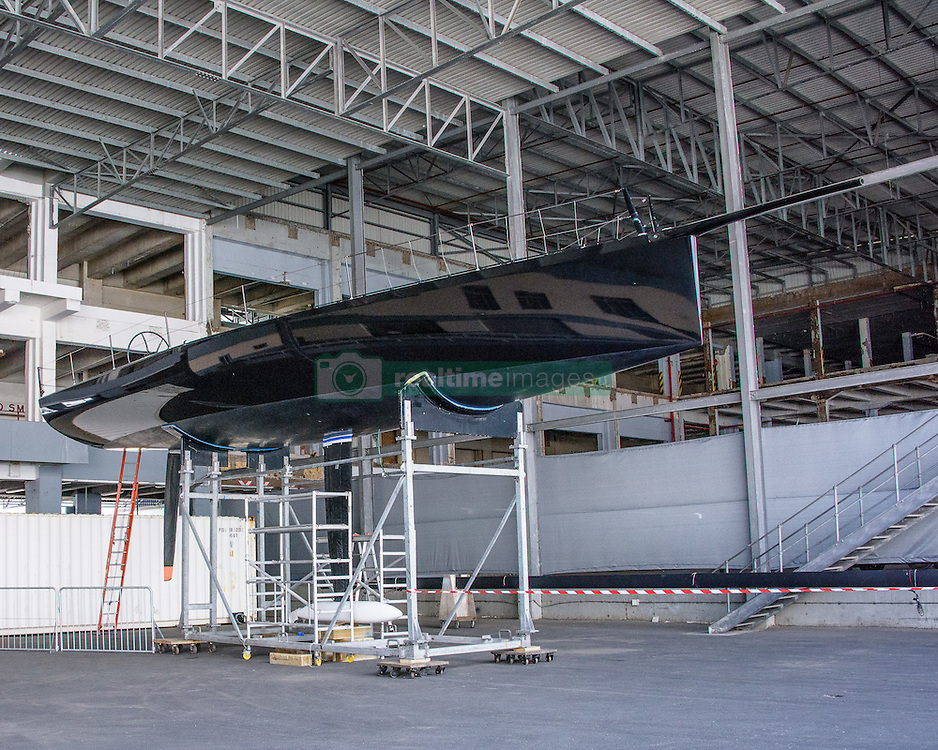15 November 2016 - Cape2Rio entrant, Black Pearl, at the Cape Town Passenger Terminal in preparation for the 2017 Race.<br /> <br /> Boat Name: Black Pearl Boat Type: Carkeek 47<br /> Boat Owner: Stefan Jentzsch Builder: PCT<br /> Yacht Club: Royal Ocean Racing Club<br /> Year Built: 2014<br /> Sail Number: GER 7007 LOA: 14.30<br /> Country: Germany
