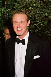 LORD EDWARD SPENCER-CHURCHILL, son of the Duke of Marlborough, at a party in London on 17th October 2000.OHY 116