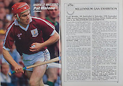 All Ireland Senior Hurling Championship Final, .04.09.1988. 09.04.1988, 4th September 1988,.4091988AISHCF,.Galway 1-15, Tipperary 0-14,.Galway v Tipperary, ..Pat Malone, Galway,