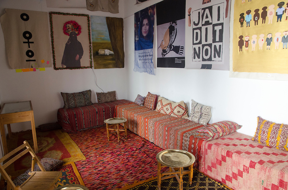 Interior of Maison Tiskiwin Marrakech Morocco