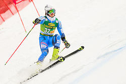 March 9, 2019 - Kranjska Gora, Kranjska Gora, Slovenia - Lucas Braathen of Norway in action during Audi FIS Ski World Cup Vitranc on March 8, 2019 in Kranjska Gora, Slovenia. (Credit Image: © Rok Rakun/Pacific Press via ZUMA Wire)
