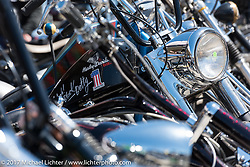 Willie's Tropical Tattoo's annual Choppertime Old School bike show during Daytona Bike Week. Daytona Beach, FL. USA. Thursday March 16, 2017. Photography ©2017 Michael Lichter.