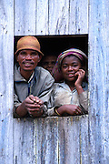 Locals do not have shoes and live in mud huts. This is one of the poorest countries in the world, and this one of its toughest regions. Yet the people are generally content and spirited. Poverty is rife in the Fianarantsua Highlands of Madagascar