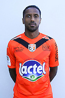 Hassane Alla of Laval during Laval squad photo call for the 2016-2017 Ligue 2 season on September, 7 2016 in Laval, France ( Photo by Philippe Le Brech / Icon Sport )