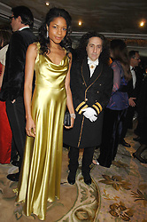 Actress NAOMI HARRIS and PHILIP SALON at the Chain of Hope Ball held at The Dorchester, Park Lane, London on 4th February 2008.<br /><br />NON EXCLUSIVE - WORLD RIGHTS