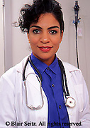 Medical Doctor, Physician at Work, Portrait