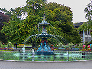 Fountain at Botanic Garden, Christchurch, South Island, New Zealand