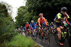 Riejanne Markus (NED) at Stage 4 of 2019 OVO Women's Tour, a 158.9 km road race from Warwick to Burton Dassett, United Kingdom on June 13, 2019. Photo by Sean Robinson/velofocus.com