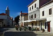 Main street, Nin, Croatia