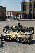 Bronze Sculptures by Colunga , Plaza Tapatia, Guadalajara, Jalisco, Mexico,