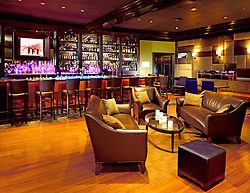 City bar interior in Boston at the Lenox hotel