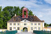 Valdemars Slot castle on Tasinge near Svendborg on the island of Funen, Denmark
