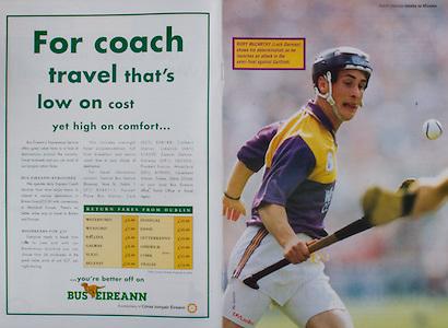 All Ireland Senior Hurling Championship - Final,.01.09.1996, 09.01.1996, 1st September 1996,.01091996AISHCF, .Wexford v Limerick,.Wexford 1-13, Limerick 0-14,.Bus Eireann,