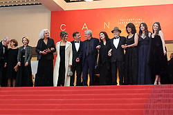 """CANNES - MAY 18: Premiere of """" Les Plus Belles Annees D'une Vie """" during the 2019 Cannes Film Festival on May 18, 2019 at Palais des Festivals in Cannes, France. CAP/MPI/IS ©IS/MPI/Capital Pictures. 18 May 2019 Pictured: Antoine Sire, Claude Lelouch, Anouk Aimee, Jean-Louis Trintignan. Photo credit: IS/MPI/Capital Pictures / MEGA TheMegaAgency.com +1 888 505 6342"""