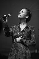 Sarah Lee Guthrie at the Sisters Folk Festival.  2012