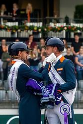 Gal Edward, Minderhoud Hans Peter, NED<br /> CHIO Rotterdam 2021<br /> © Hippo Foto - Sharon Vandeput<br /> 3/07/21