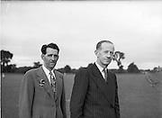24/06/1952.06/24/1952.24 June 1952.The Dublin Senior hurling team in trainging at Parnell Park before the Leinster Senior Hurling Final against Wexford in Nowlan Park, Kilkenny. Dublin won the final 7-2 to 3-6.
