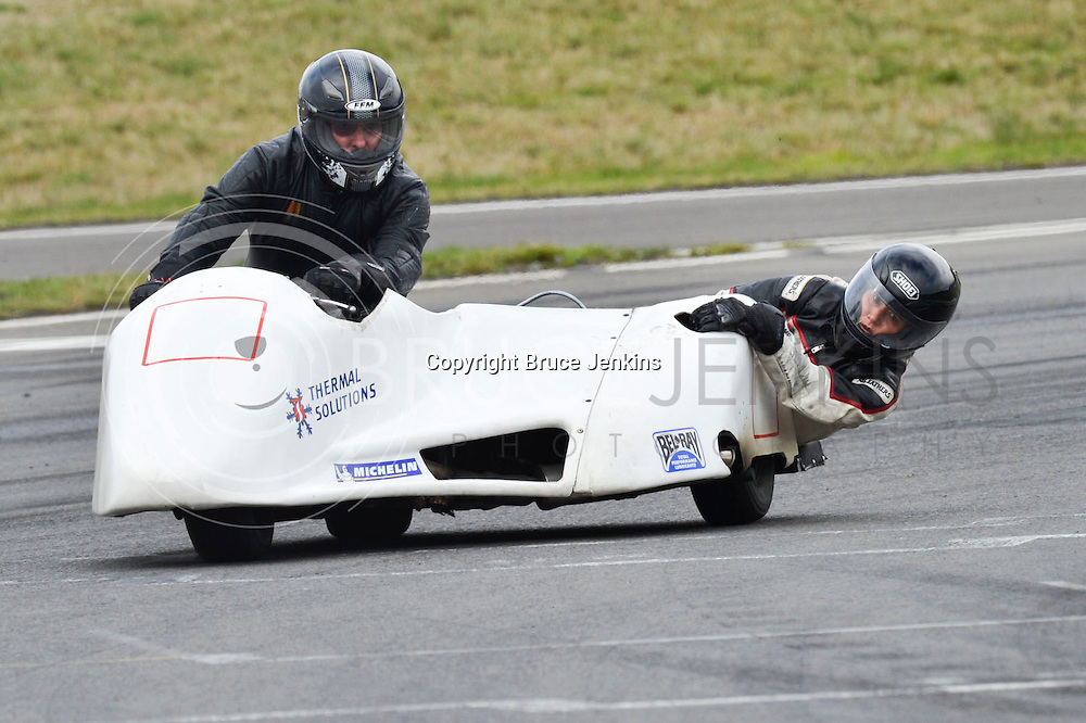 Sidecar racing Taupo May 2013. Photography by Bruce Jenkins