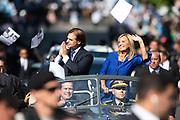 20200301 /URUGUAY / MONTEVIDEO / Asunción de Luis Lacalle Pou como nuevo presidente de la república.<br /> <br /> En la foto: Luis Lacalle Pou y Beatríz Argimón durante la asunción como nuevo presidente. Foto: Santiago Mazzarovich / adhocFOTOS