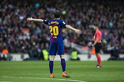 March 4, 2018 - Barcelona, Catalonia, Spain - 20 Sergi Roberto from Spain of FC Barcelona during La Liga match between FC Barcelona v Atletico de Madrid at Camp Nou Stadium in Barcelona on 04 of March, 2018. (Credit Image: © Xavier Bonilla/NurPhoto via ZUMA Press)