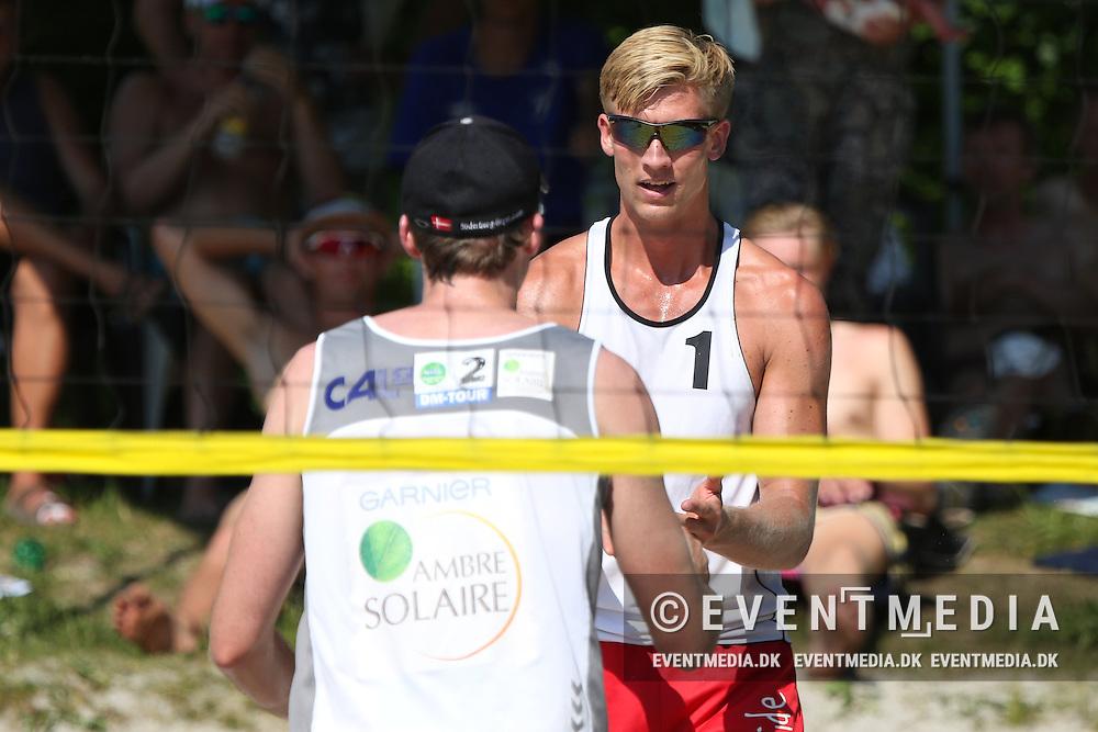 Beachvolley: Odense Grand Slam on the Danish Beachvolley Tour 2016, 5.6.2016 in Odense, Denmark. (EVENTMEDIA).