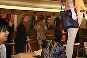 TAMSIN EGERTON AND RACHEL MITCHEM, Uniqlo - Japanese store launch party, 311 Oxford Street, London, W1. 6 November 2007. -DO NOT ARCHIVE-© Copyright Photograph by Dafydd Jones. 248 Clapham Rd. London SW9 0PZ. Tel 0207 820 0771. www.dafjones.com.