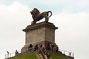 Belgium, Waterloo, the Lion hill on the battlefield