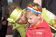 Koninginnedag 2007 in het vestingsstadje Woudrichem / Queensday 2007 in the small village Woudrichem.<br /> <br /> Op de foto / On the Photo; Prinses Laurentien