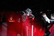 4/12/2007 - Ace Vanilau is introduced to the home crowd as he takes the field for The Alaska Wild of the IFL.