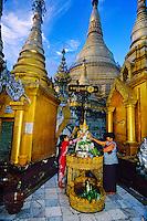 Shwedagon Pagoda, Yangon (Rangoon), Burma (Myanmar)